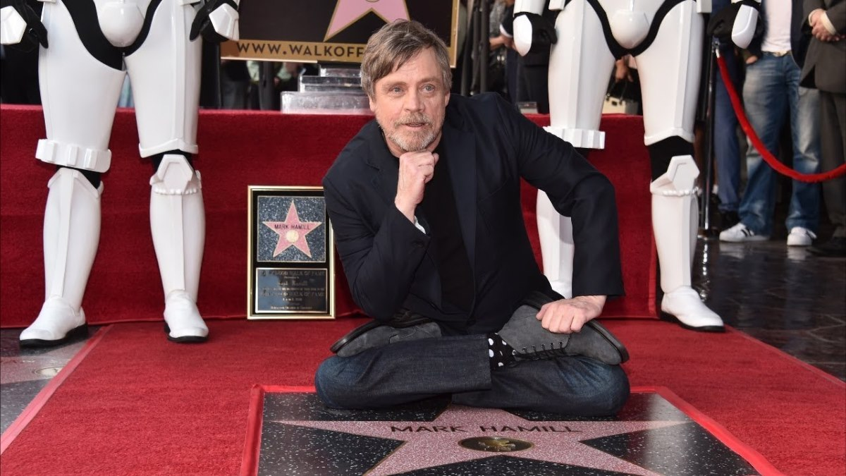 Марк Хэмилл получил звезду на Аллее славы в Голливуде