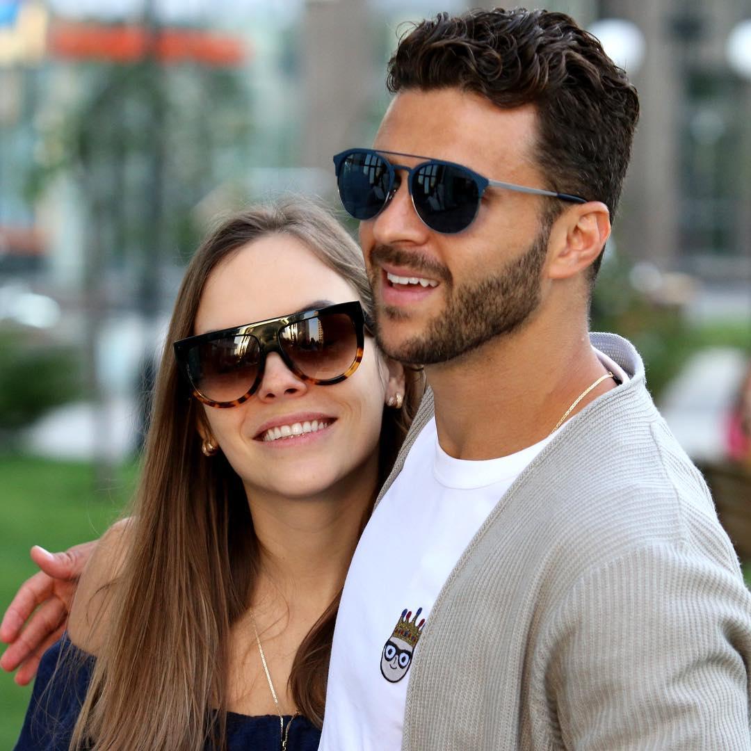 Судя по снимкам в сети пара очень счастлива