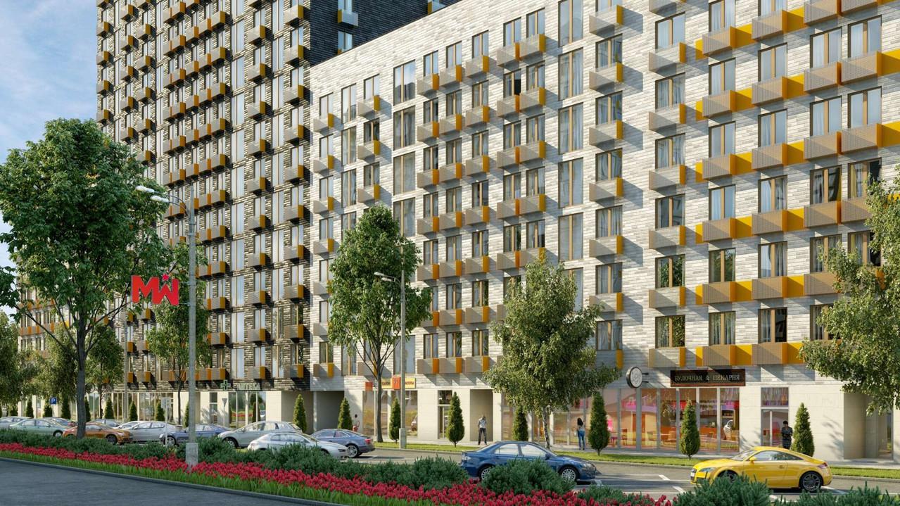 Одна из самых дешевых квартир в Москве стоит почти миллион гривен