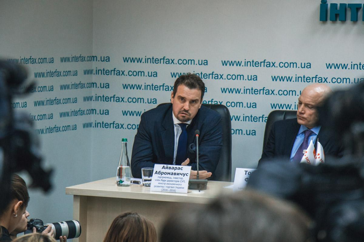 Айварас Абромавичус - инвестор, министр экономического развития Украины (2014-2016)
