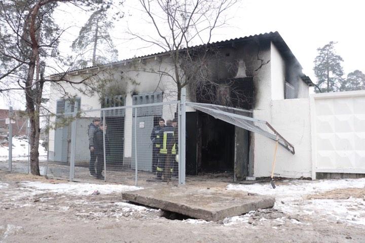 Возгорание вознилко в трансформаторной подстанции