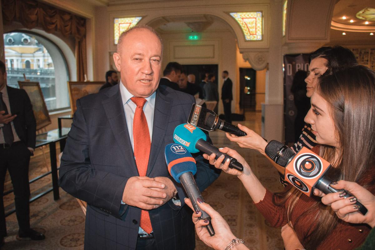 Народный депутат Виктор Чумак