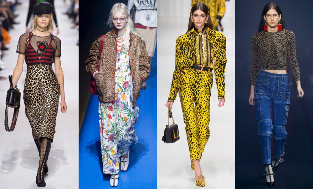Снова в моде леопардовые принты