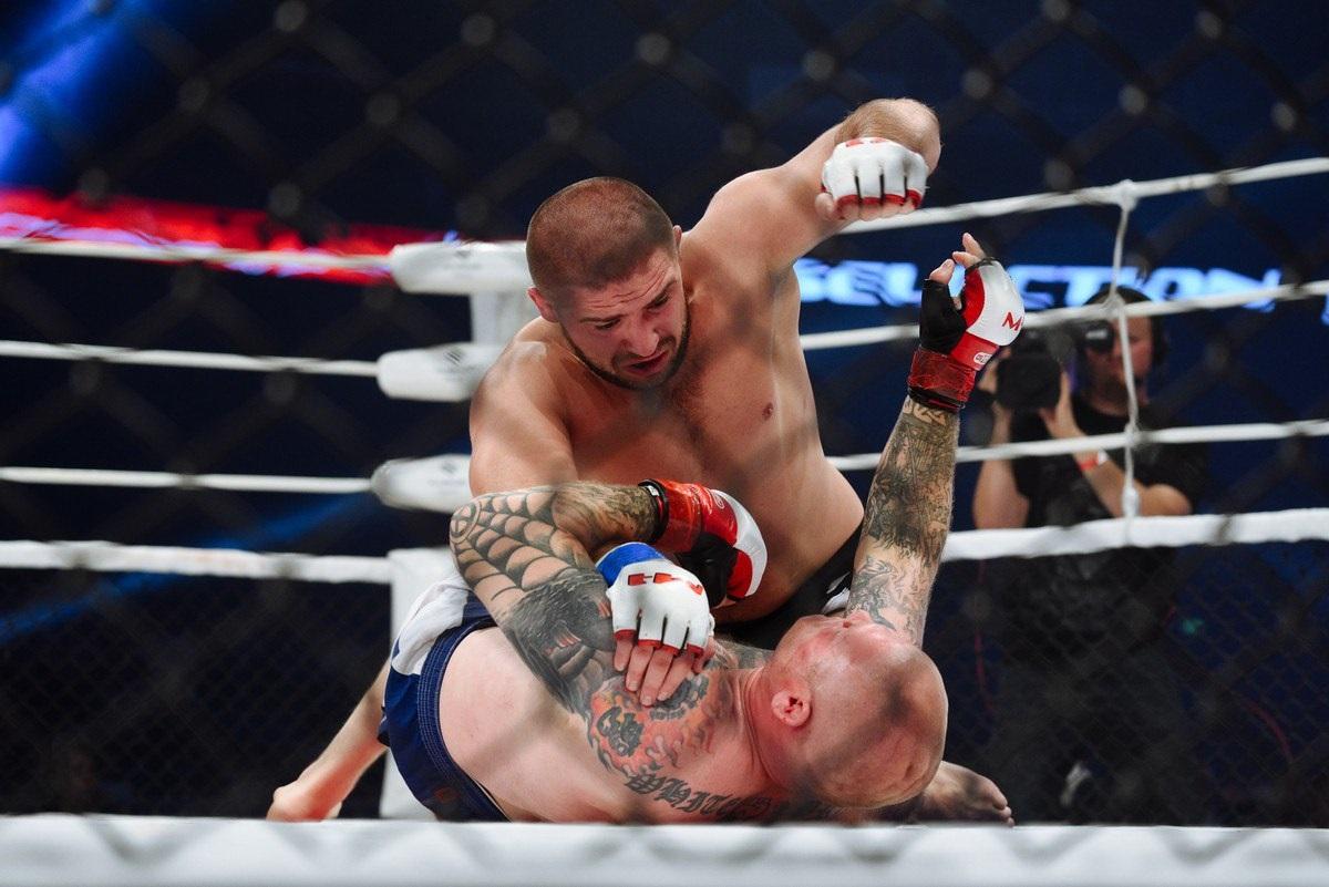 В Киеве состоятся бои MMA
