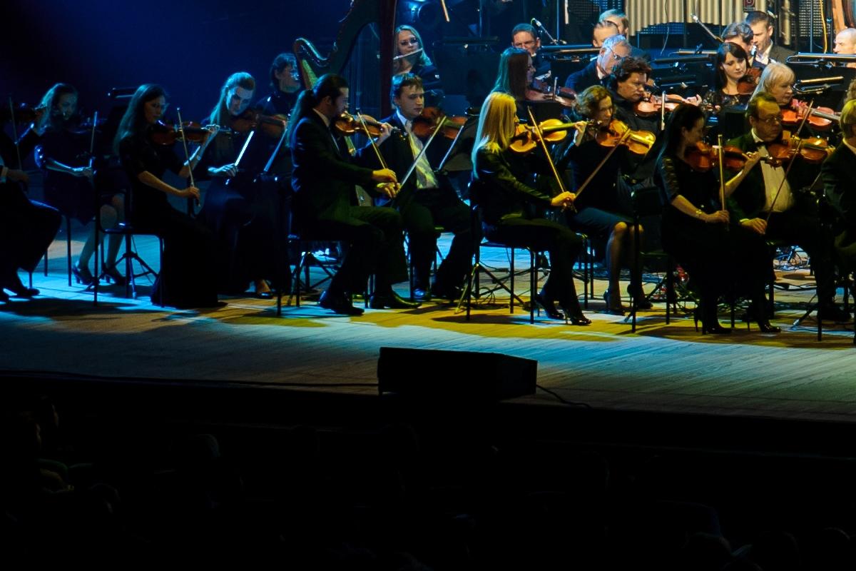 Rock Symphony - единое монолитное произведение.