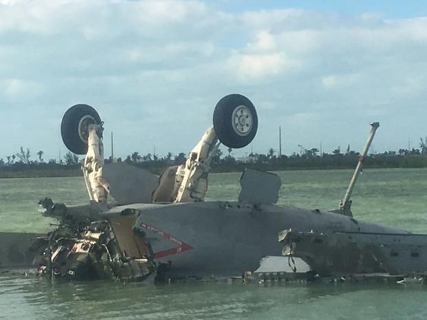В США разбился боевой самолет: есть погибшие