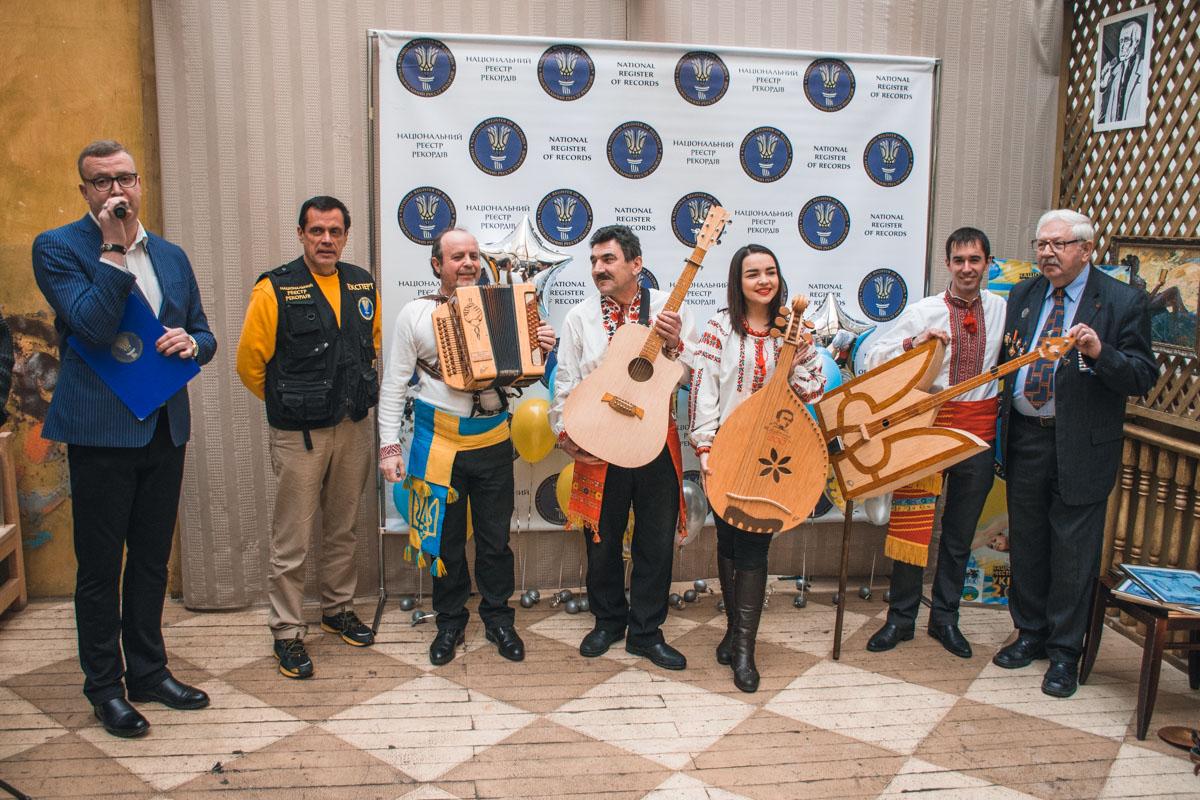 Группа музыкантов из Жашкова удивила всех присутствующих