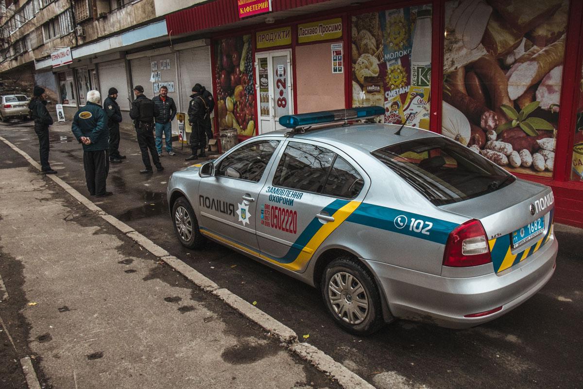 Полиция охраны задержала стрелка на месте стрельбы