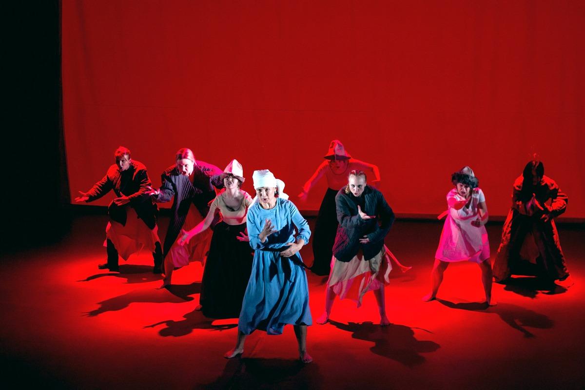 Новый украинский театр приглашает на чувственное и мистическое представление