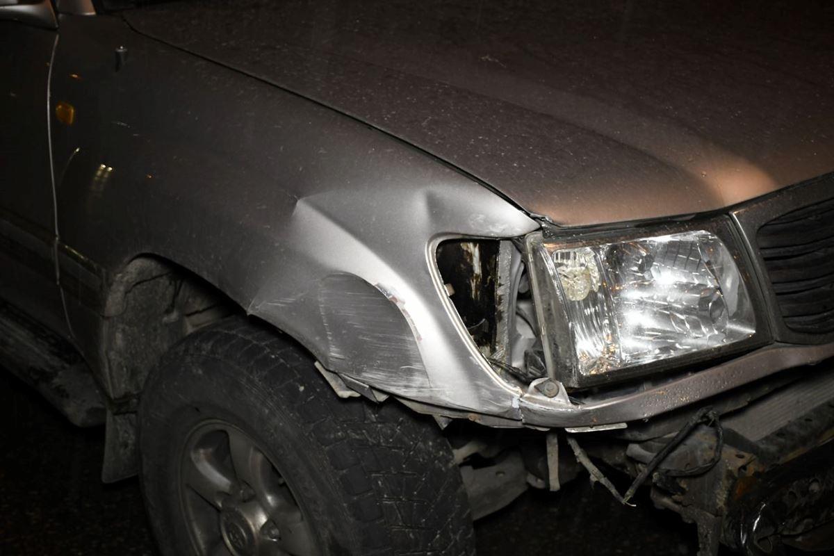 Авария случилась из-за дождя