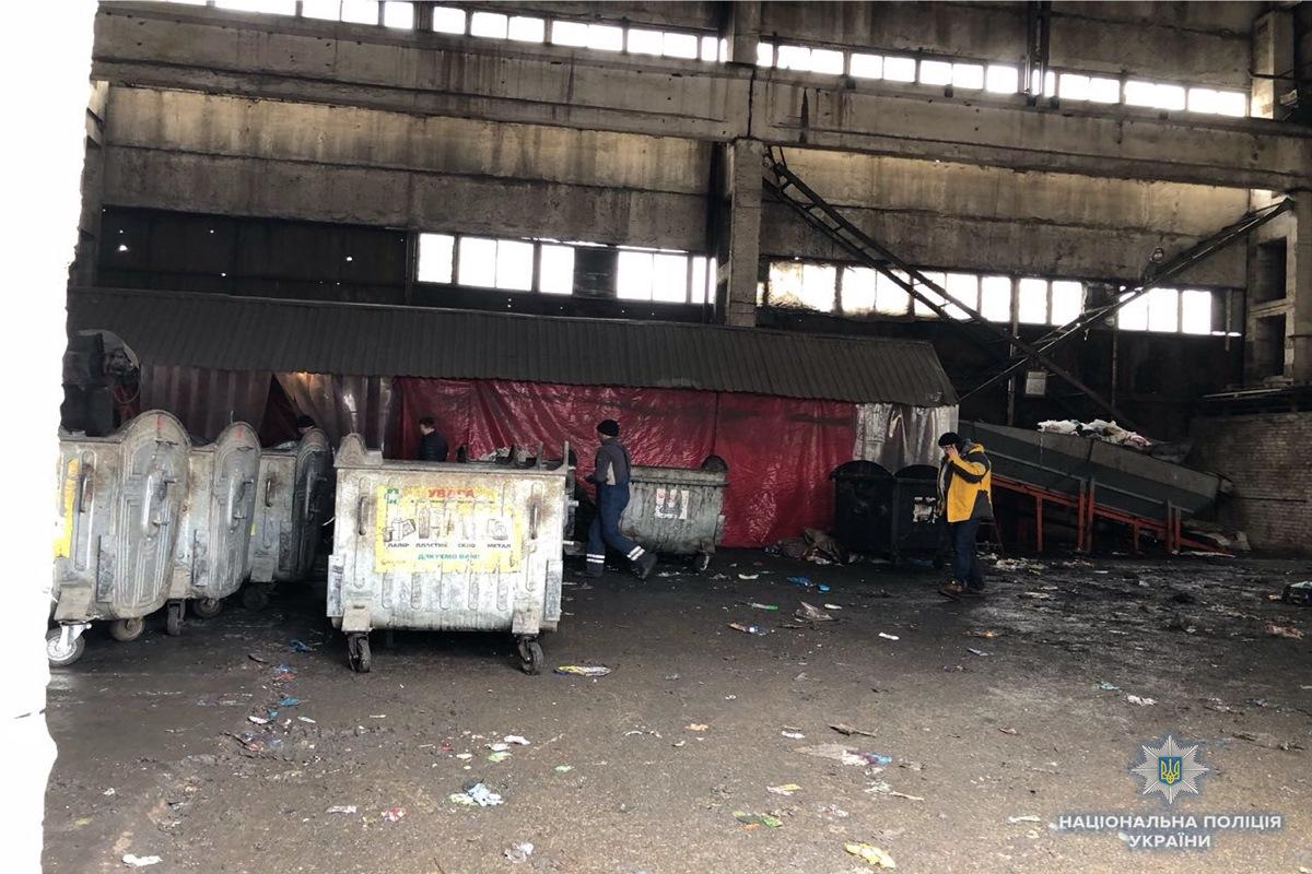 Тело младенца обнаружили на мусороперерабатывающем заводе