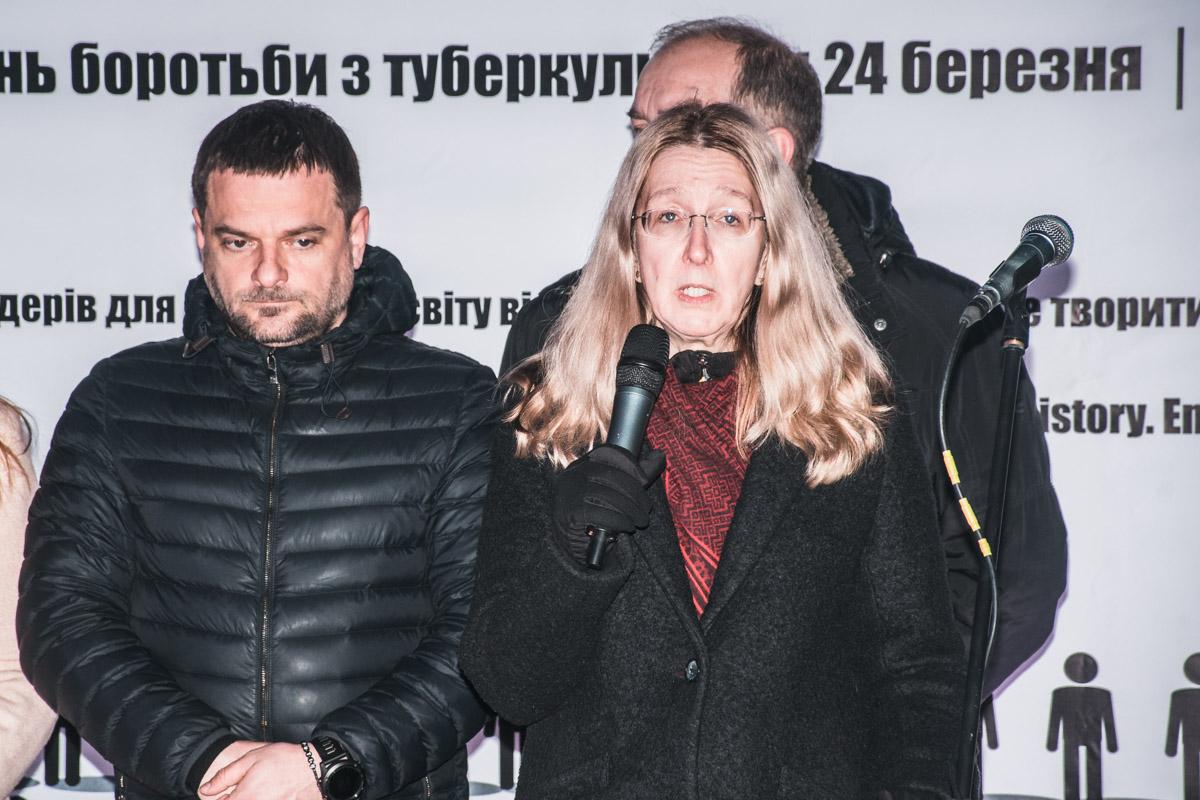 Ульяна Супрун - министр здравоохранения Украины