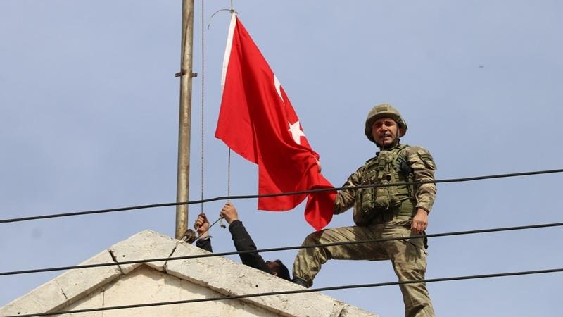 Сирийский город Африн теперь под контролем Турции