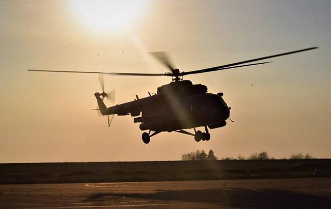 Во Франции разбился вертолет, погибли два человека