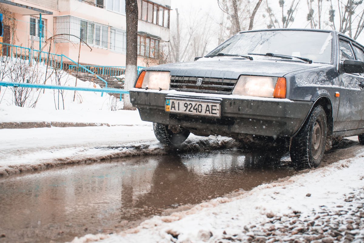 Киевавтодор пока не прокомментировал состоянии дорог на улице Щусева