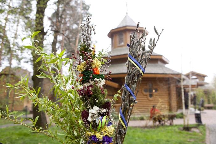 """Вечером 7 апреля в """"Украинском селе"""" начнется Пасхальная всенощная."""