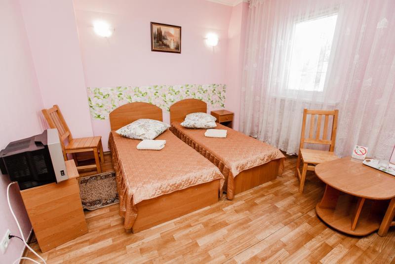 По желанию можно выбрать совместную или раздельные кровати