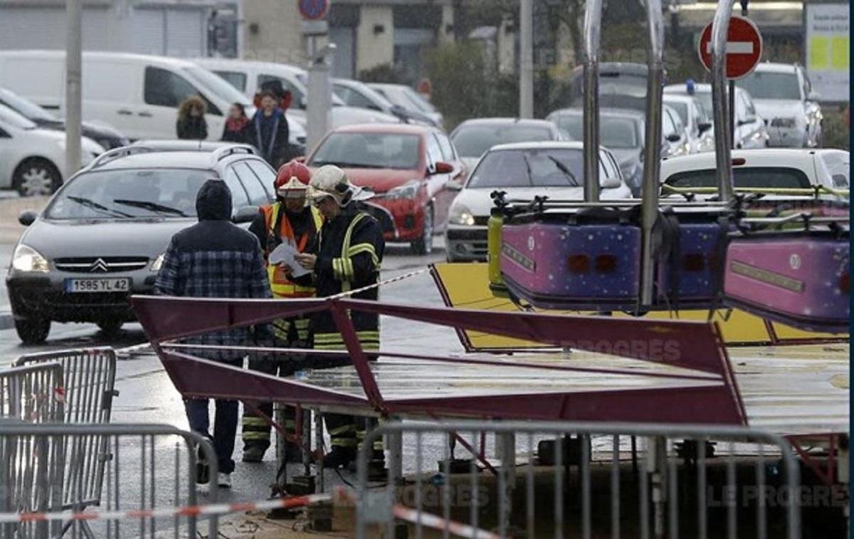 Во Франции погиб мужчина во время аварии на карусели