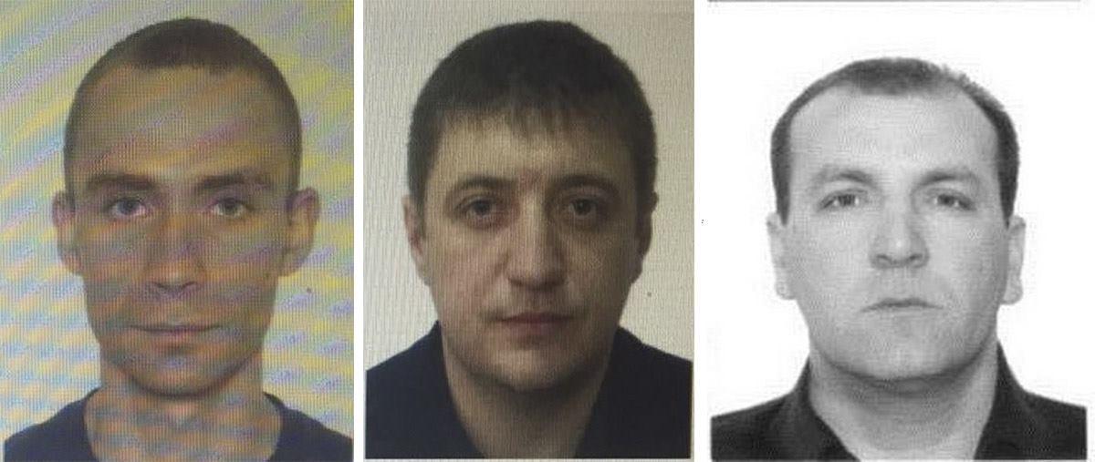 Были установлены личности трех исполнителей преступления
