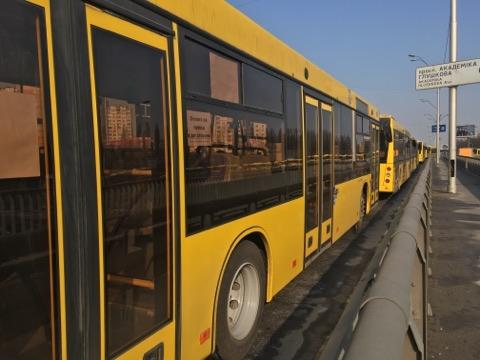 Все автобусы маршрута № 740