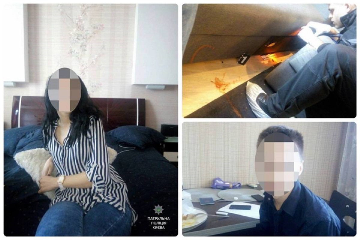 Подозреваемых - двоих мужчин и женщину, задержали