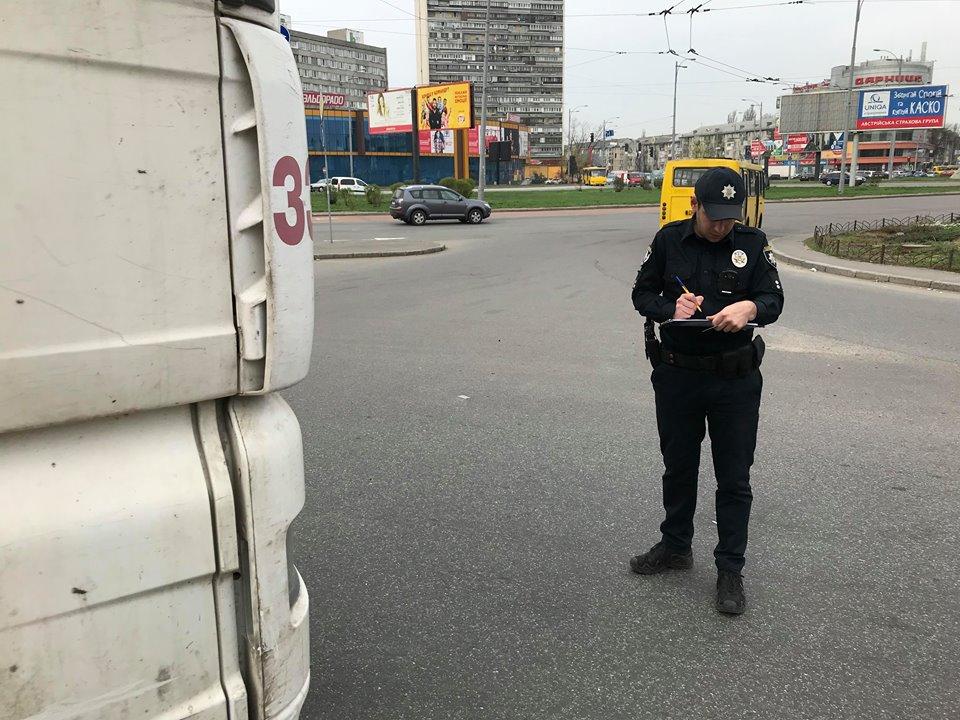 На месте работает патрульная полиция