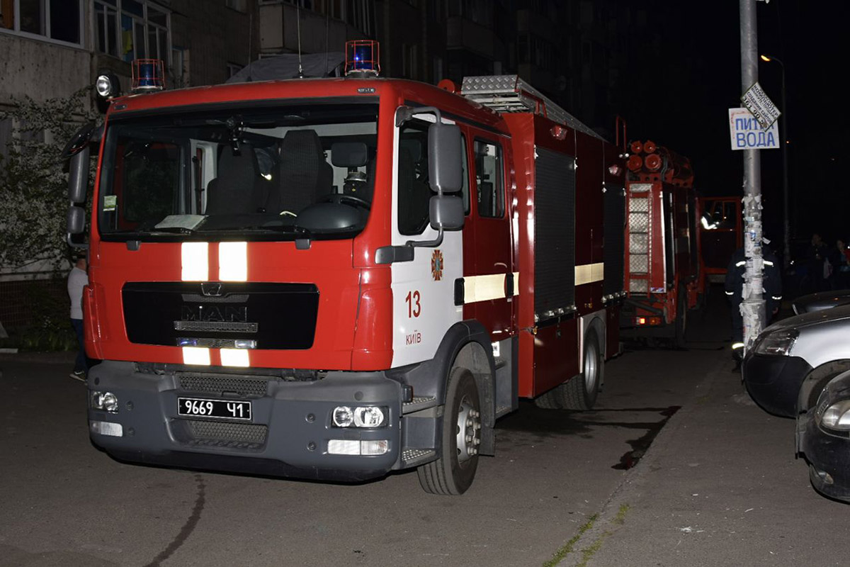 На месте работали две единицы пожарно-спасательной техники