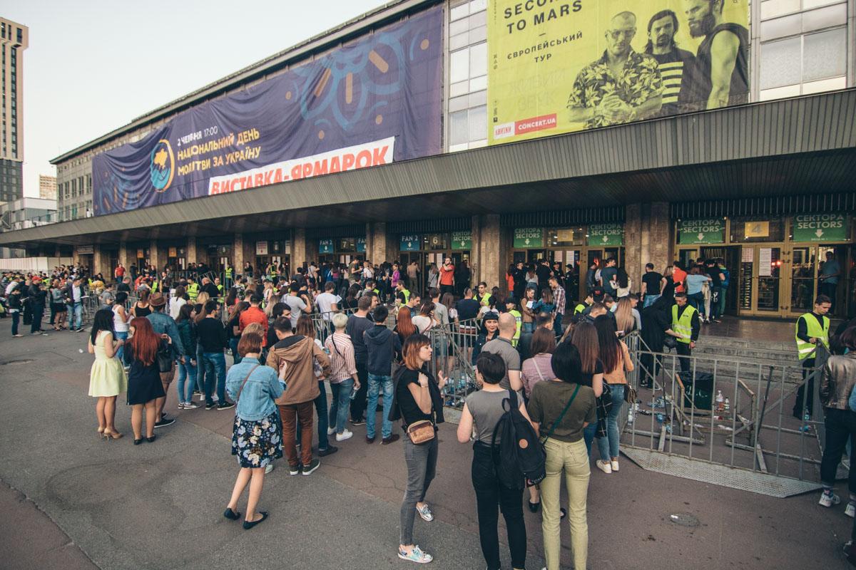 30 Seconds to Mars в Киеве произвел настоящий фурор