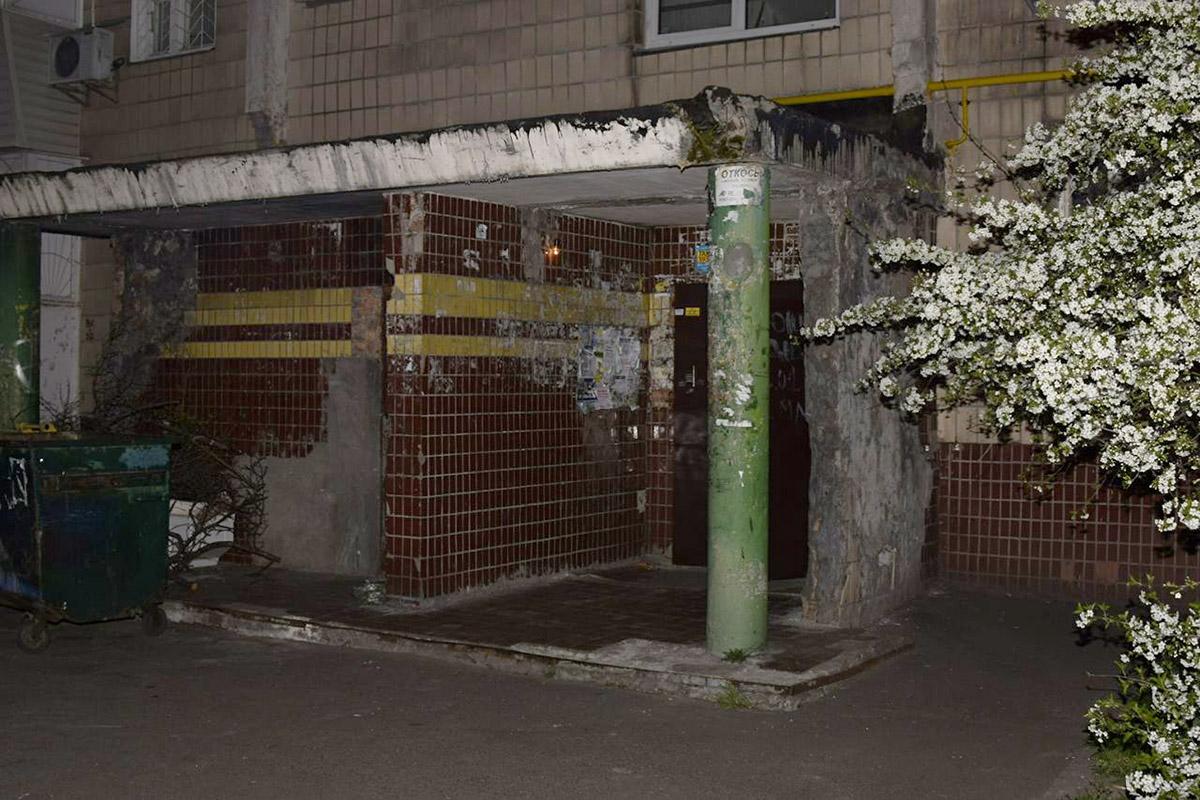 На улице Радужной, 13в случился пожар
