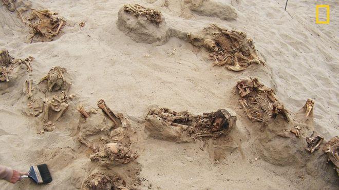 ученые раскопали останки более 140 детей