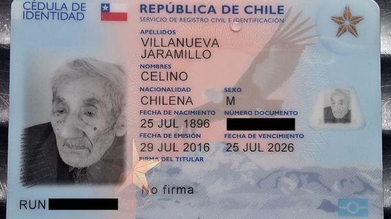 Умер самый старый человек в мире чилиец Селино Вильянуэва Джарамильо