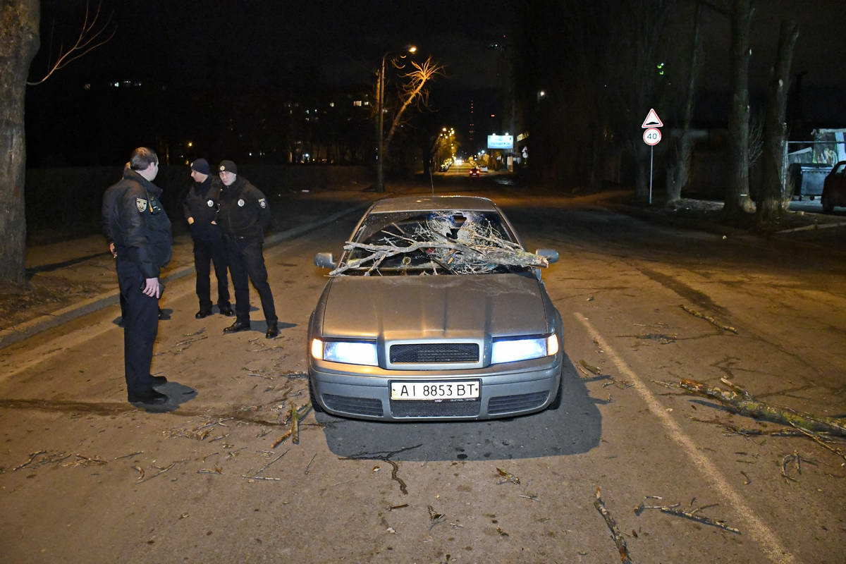Авария случилась около 20:30 перед светофором на улице Академика Туполева, 1