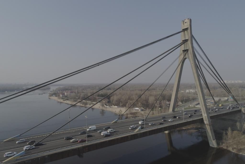 Северный мост - один из самых важных путепроводов столицы