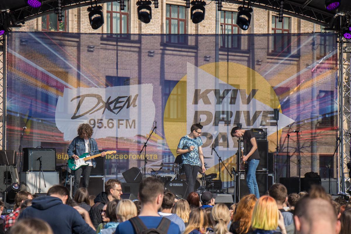 На сцене фестиваля выступили хардовые группы