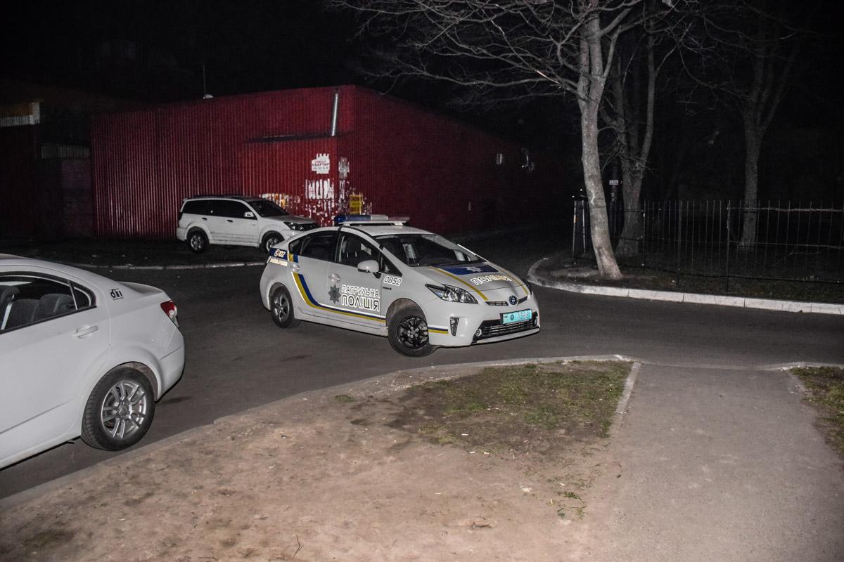 Патрульные задержали дебошира прямо на месте происшествия