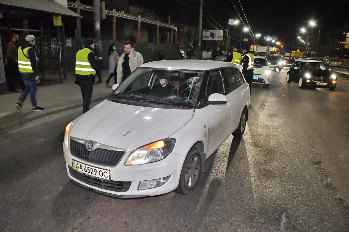 На Елены Телиги Skoda сбила пешехода