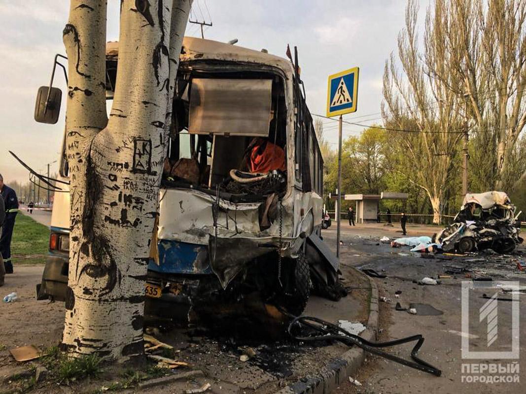 Автобус двигался по маршруту в сторону Соцгорода