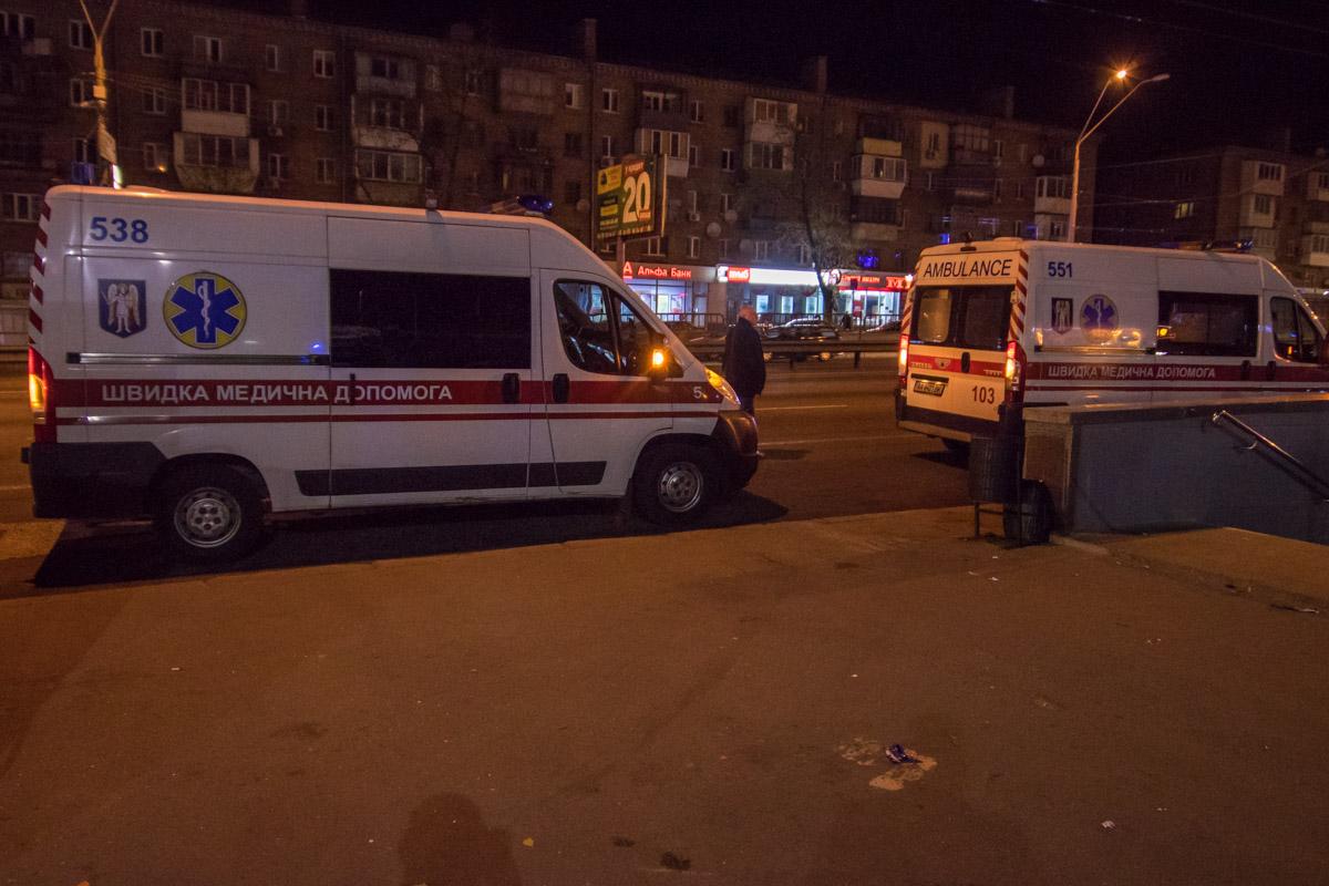На взрывы приехало три кареты скорой помощи