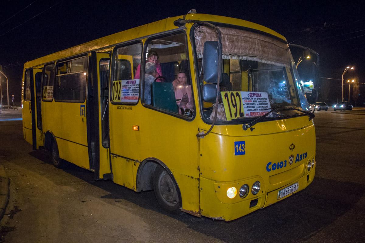 Автобус во время ДТП был на маршруте