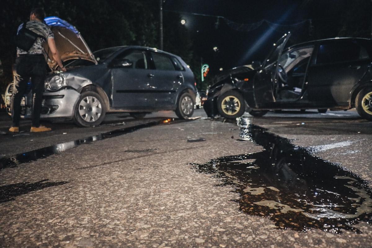 30 апреля в Борисполе произошло ДТП