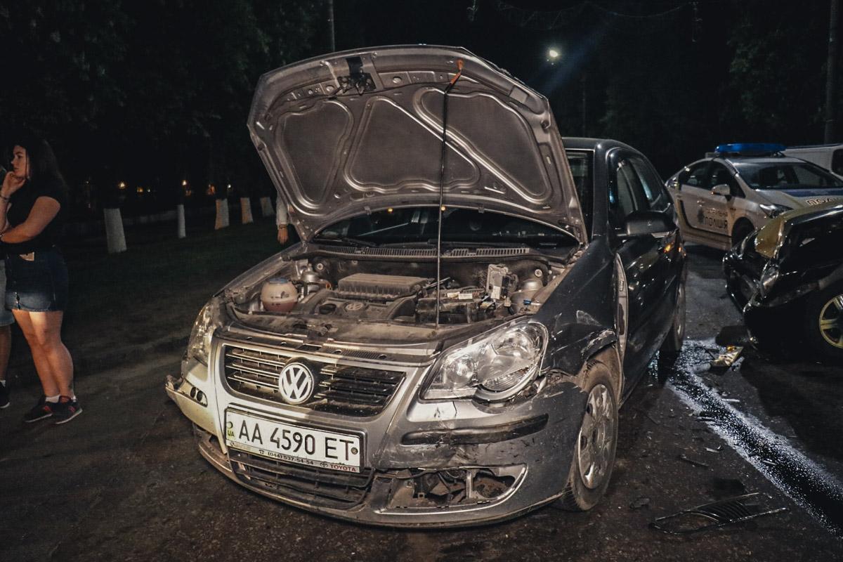 Из-за аварии движение в сторону Киева затруднено
