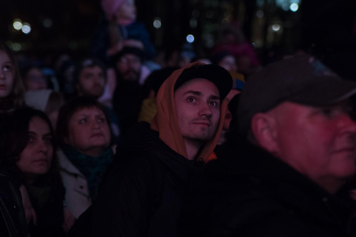 Перфоманс прошел на Софийской площади