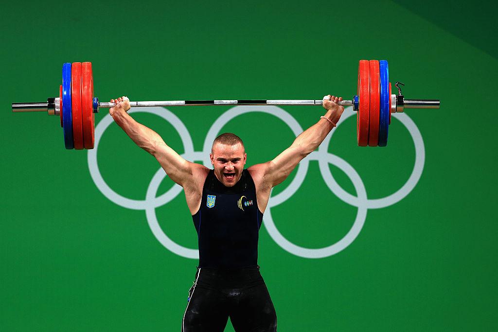Украинский спортсмен Александр Пелешенко