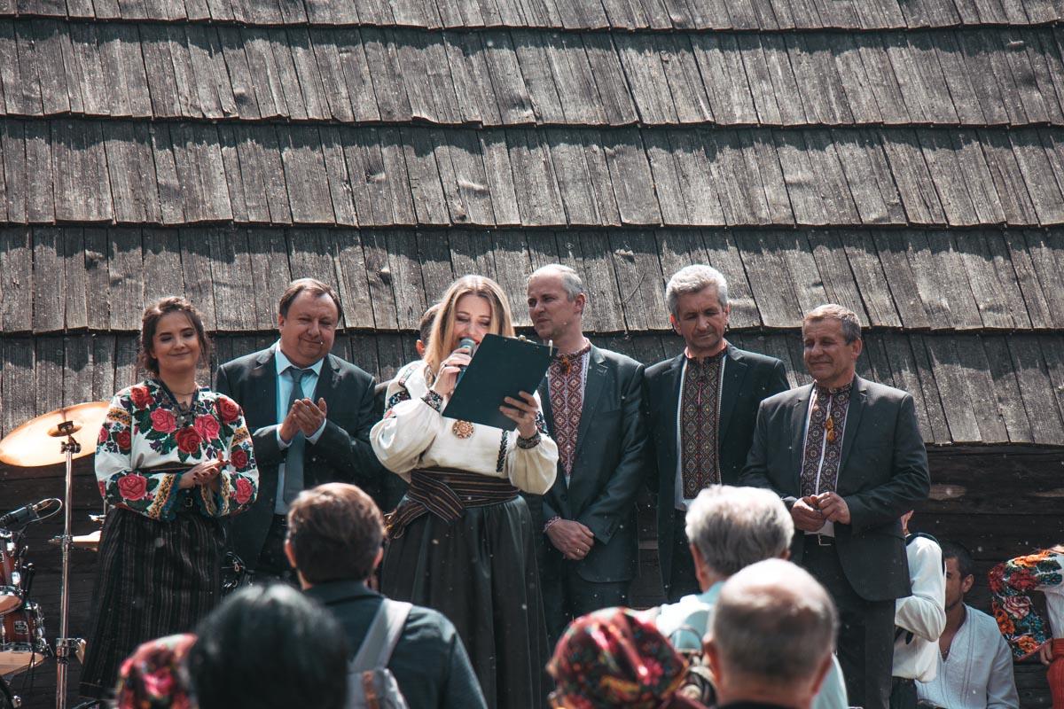 Это первый гуцульский фестиваль, который торжественно открыли в Киеве