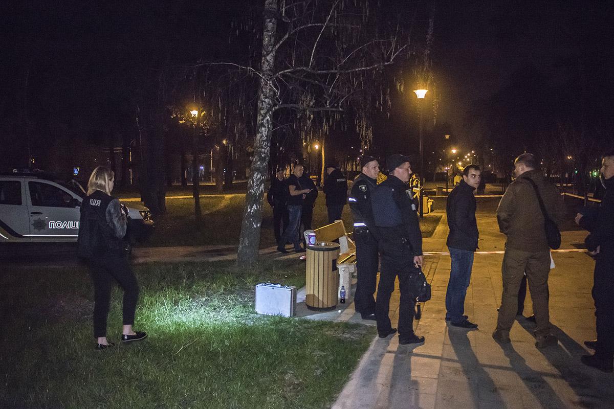Полиция оградила территорию, где прогремел взрыв