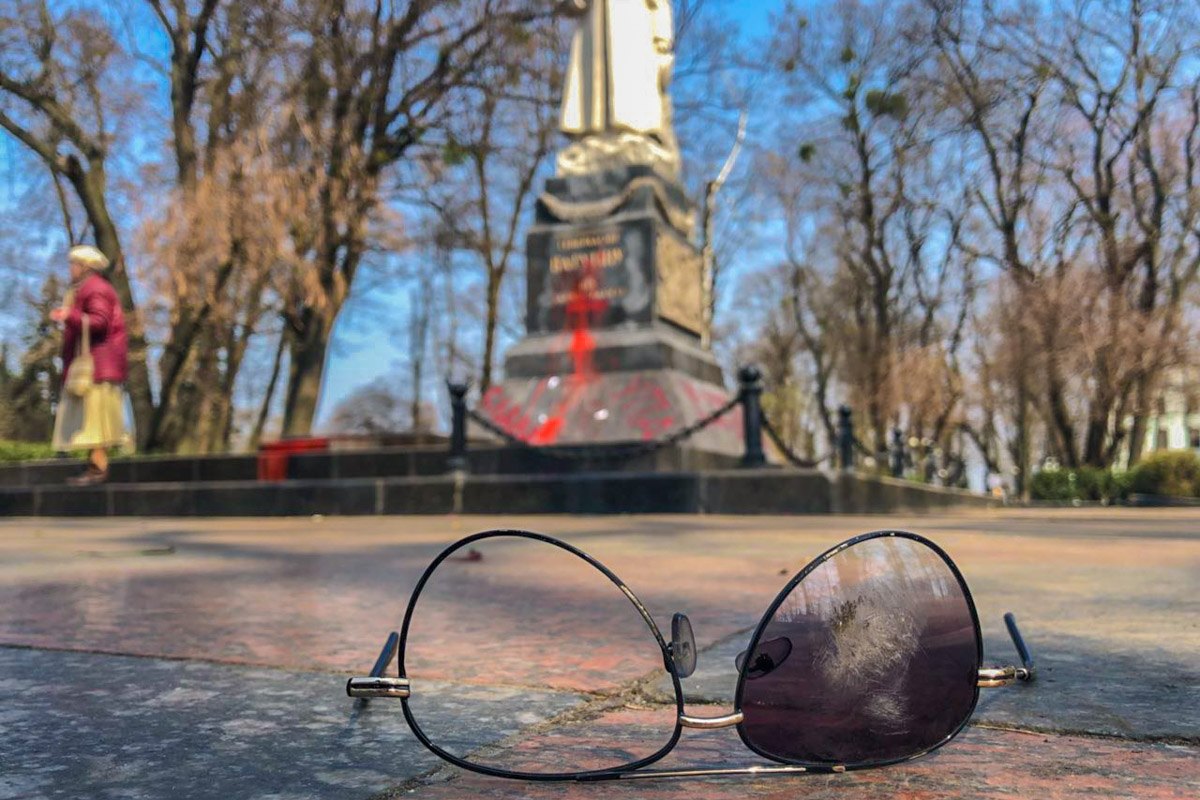 Итог драки возле памятника генералу Ватутину