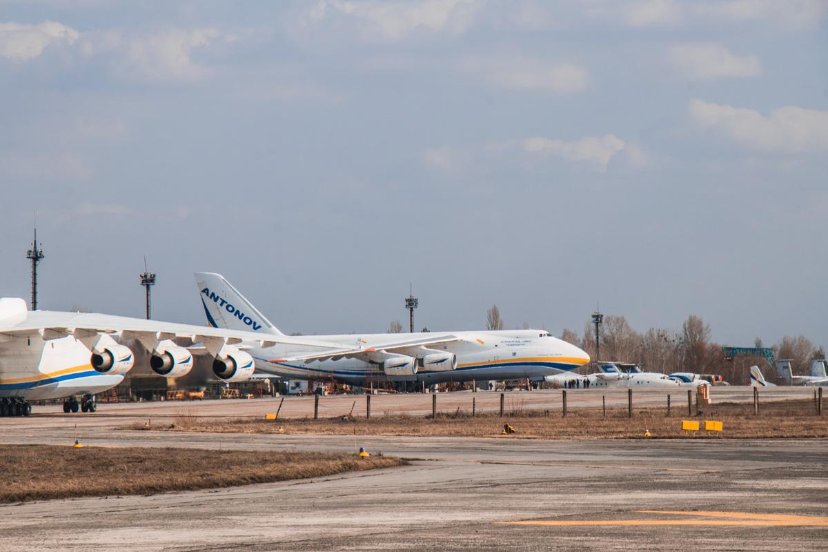 «Мрия» - самый крупный и тяжелый транспортный самолет в мире