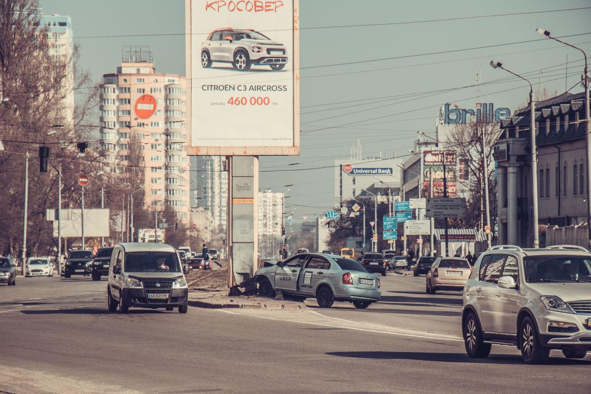 ДТП произошло утром на улице Автозаводской