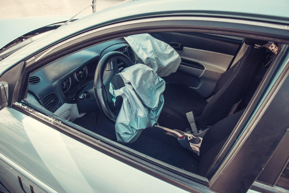 В Hyundai сработали подушки безопасности