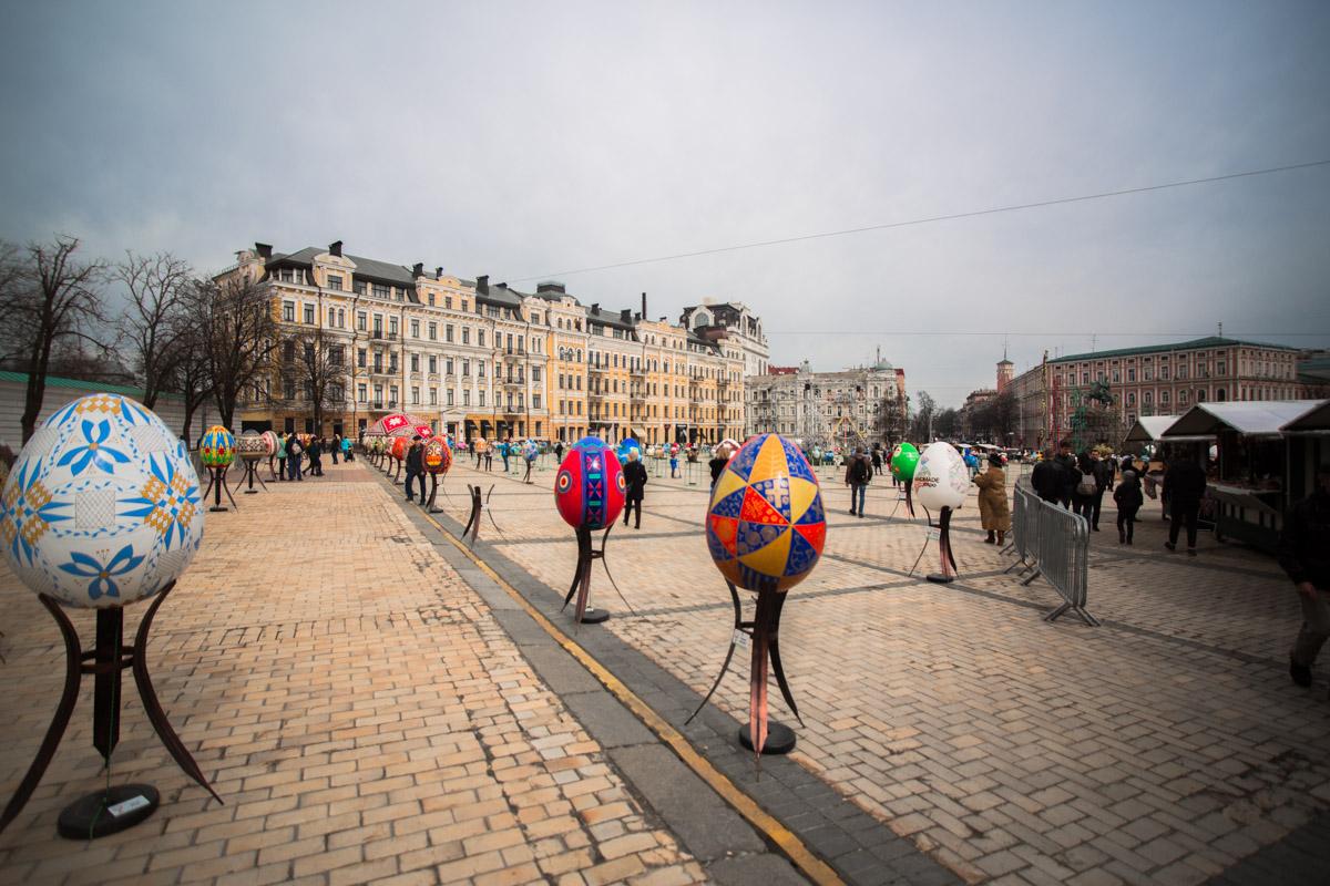 Ежегодный Фестиваль Писанок, который организовывает этнокультурний проект Folk Ukraine, проходит в столице уже 8-й раз